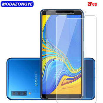 2vnt Screen Protector For Samsung Galaxy A7 2018 Grūdintas Stiklas